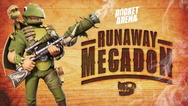 Rocket Arena Uciekający Megadon
