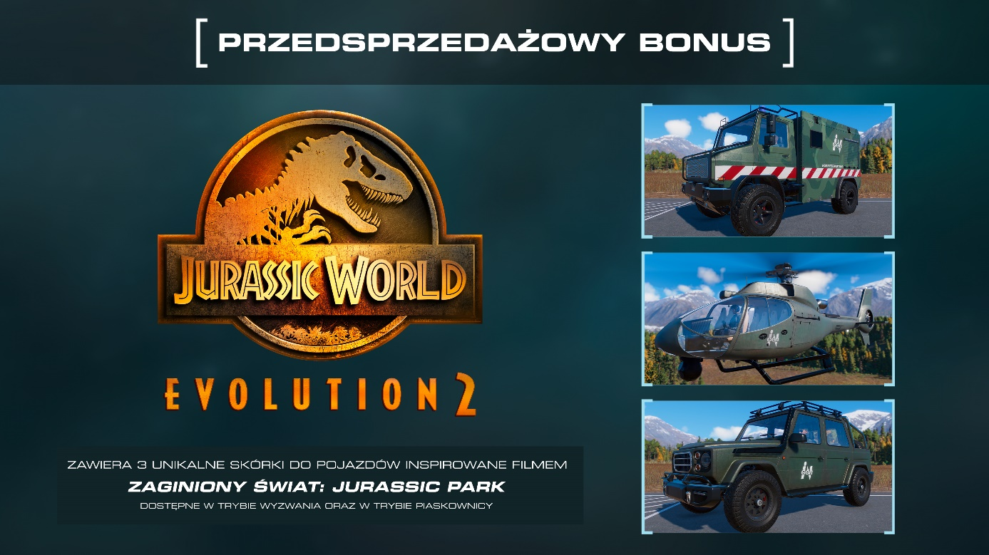 Jurassic World Evolution 2 Przedsprzedaż